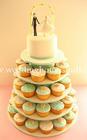 คัพเค้ก Custom Wedding Cupcake 5 ชั้น