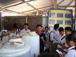 โรงเรียนฝางวิทยายนศึกษาดูงานไบโอดีเซล