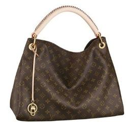 AUTHENTIC LOUIS VUITTON MONOGRAM CANVAS ARTSY MM H