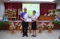 27 ก.ย2562พิธีมอบเกียรติบัตร นักศึกษาฝึกประสบการณ์วิชาชีพครู 2562