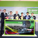 BASF opens its first automotive coatings production plant in Thailand, by chewmwinfo