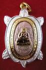 เหรียญเต่าหลวงปู่หลิว(3) วัดไร่แตงทอง พิมพ์สังกัจจาย รุ่นปลดหนี้ ปี 2540