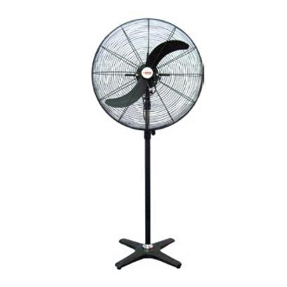 พัดลม 2 ใบพัด / พัดลมใบดำขาเดี่ยว  / ติดผนัง (Industrial Fan)