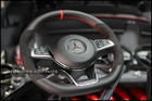 C63 S-AMG Alcantara Steering Wheel with RED Stitch