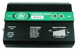 WIDE BAND BOOSTER DBY DA-120 (SLOPE)