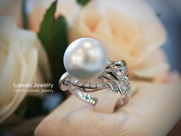 แหวนไข่มุกเซาท์ซี