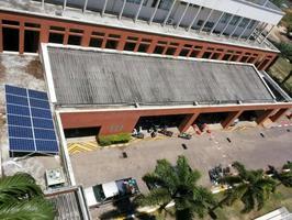Solar Grid conect system 6kw พร้อมMonitoring system ABB สจล. วิทยาเขตชุมพร