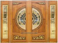 ประตูไม้สัก บานเดี่ยว บานคู่ ประตูไม้สักกระจกนิรภัย,ประตูไม้สักแบบโมเดิร์น มากมายกว่า 50แบบ