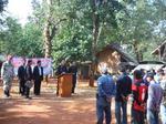 กิจกรรมฝึกอบรมราษฎรอาสาและการเฝ้าระวังป้องกันภัยยาเสพติด บ้านป่าตึงงาม
