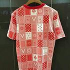 Louis Vuitton Monogram Card Backside T shirt ลายไพ่ สีแดง