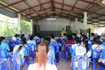 เปิดการประชุมอาสาสมัครสาธารณสุขประจำหมู่บ้าน ประจำเดือนกรกฎาคม 2563