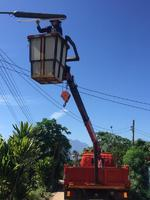 ซ่อมแซมไฟกิ่งสาธารณะ บ้านปางเฟือง หมู่ที่ 2