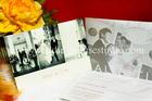 การ์ดแต่งงาน รูปถ่ายสองพับ รหัส PR2-5