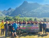 โครงการแข่งขันกีฬาประชาชนต้านยาเสพติด �ปิงโค้งคัพ� บ้านห้วยน้ำริน