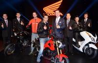 ฮอนด้าเปิดตัวรถใหม่ 5 รุ่นรับศักราชใหม่ปี 2013