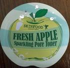 **พร้อมส่ง**Tester Skinfood Fresh Apple Sparkling Pore Toner แพ็ค 50 ซอง