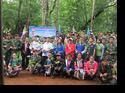 โครงการปลูกป่าตำบลปางมะผ้า ประจำปี 2557