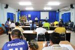 ประชุมกำนันผู้ใหญ่บ้าน ผู้นำชุมชน ประจำเดือน เมษายน 2563