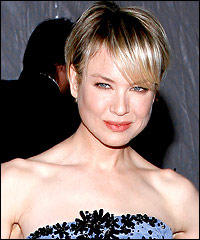 Renee Zellweger Short Hairstyle