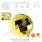เม็ดทองตัดลายดิสโก้(ขนาด10มิล)(น้ำหนักโดยประมาณ0.84กรัม/เม็ด) (ทอง 90%)