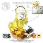 จี้ปีวอกชุป2สี(ลิง)(12นักษัตร)(น้ำหนักโดยประมาณ1.8กรัม)(เงิน 92.5%)