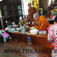 ดำเนินการจัดส่ง หนังสือและตู้พระไตรปิฎกภาษาไทย ไม้สักทั้งหลัง   ถึง #สำนักสงฆ์หลวงปู่เจือ