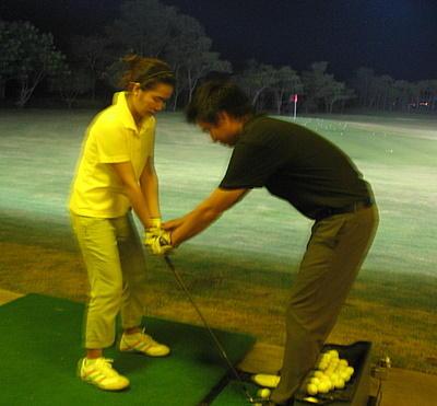 เรียนกอล์ฟ