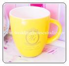 ของชำร่วย แก้วกาแฟ 2 สี ใบใหญ่