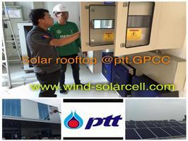 Solar PV  Rooftop :   อาคาร  PTT   GPCC   ชลบุรี