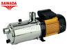 ปั๊มน้ำสแตนเลส รุ่น Tecno 25 5M ขนาดมอเตอร์ 1.5 แรงม้า 1100 วัตต์ (ไฟ 2,3 สาย)