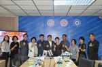 ต้อนรับ คณะผู้บริหารจากประเทศเกาหลีใต้  ในการเข้าเยี่ยมชมการเรียนการสอนของวิทยาลัยเทคนิคมีนบุรี