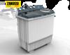 ZWS13262WAเครื่องซักผ้า 2 ถังZANUSSIความจุถังซัก 12  กิโลกรัม (ELE-WM)