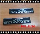 AC Schinitzer Logo โลโก้ติดป้ายทะเบียนรถ  โลโก้แต่งรถสำหรับบีเอม เกรดนำเข้า ติดทนนาน