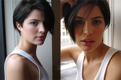 Great Brunette Bob