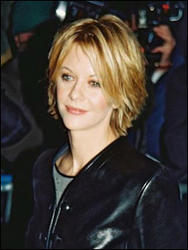 Meg Ryan with a Firty Short Style