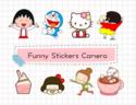 Funny Stickers Camera แอพใส่ภาพการ์ตูน โดเรมอน , คิตตี้ , ชินจัง , มารูโกะ , The Minions และสติ๊กเกอร์อื่นๆลงบนภาพถ่ายของเรา > แจกฟรีจำกัดเวลา