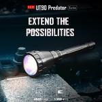 ไฟฉาย Imalent UT90 Predator 4800 Lumens สายพุ่งนักล่า