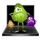 การตรวจสอบไวรัส (virus) และการป้องกันไวรัส เบื้องต้น