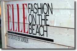 Elle Fashion on the Beach