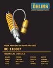 SHOCK OHLINS CRF250L/M