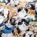 ผ้าลายแมว หน่วยละ 1/4 หลา