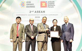 ไทยออยล์รับรางวัล �TOP 50 ASEAN PLCs�
