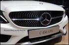 W205 Diamond Front Grille [Black]