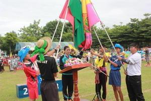 กีฬาสีภายในโรงเรียนชุมชนบ้านเสิงสาง ประจำปีการศึกษา 2560