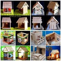 DIY บ้านไม้ไอติม ชุด2