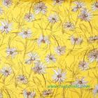 ผ้าคอตตอนญี่ปุ่น Yuwa ขนาด 1/4 หลา SZ826012-E สีเหลือง