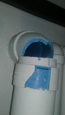 ซ่อมท่อน้ำทิ้งชักโครก