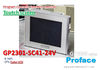 Program Operator interface, terminal, Toutch screen, Proface, GP2301-SC41-24V, STN 64 Color LCD, 6inch