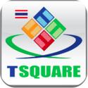 TSquare Traffic&Taxi แอพบอกสภาพการจราจร และตำแหน่งรถแท๊กซี่ที่กำลังรับ-ส่งผู้โดยสาร