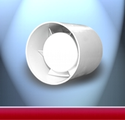 Euro Duct Fan พัดลมดูดอากาศ แบบ ท่อกลม เล็ก แต่ แรง ทั้ง ปริมาณลม และ แรงดัน